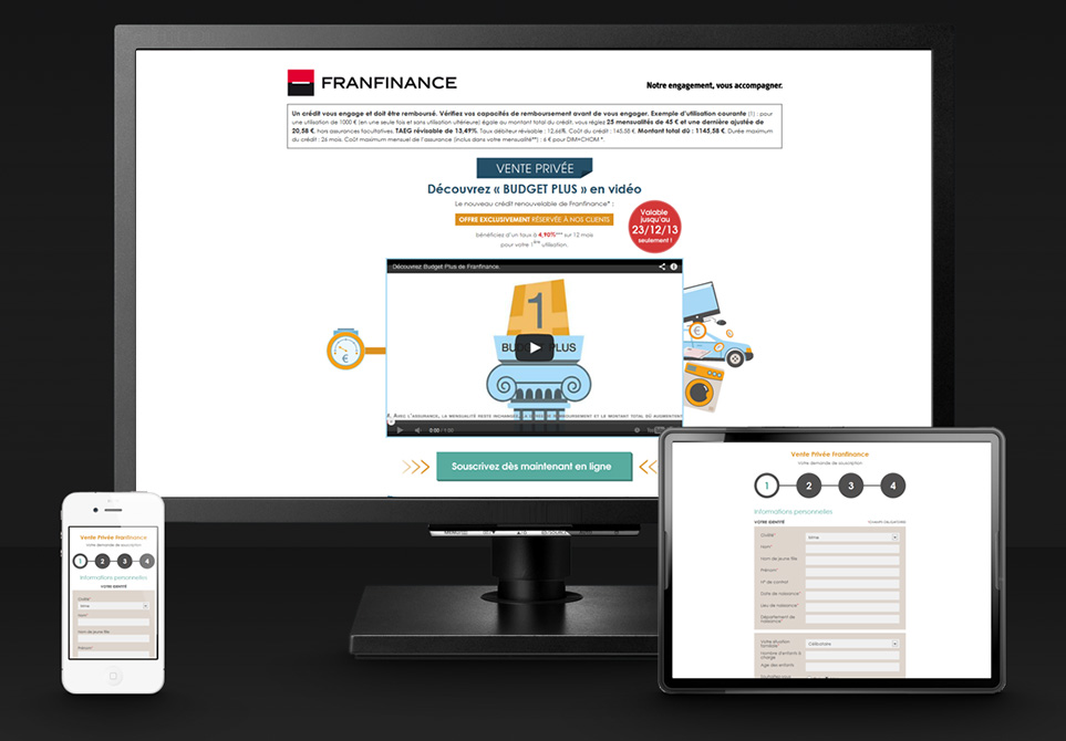 Franfinance Budget Plus - Responsive